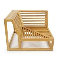 Maya Teak Sectional Outdoor Furniture Set - Westminster ...