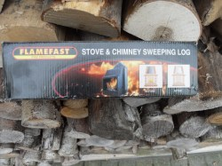 Small Of Creosote Sweeping Log
