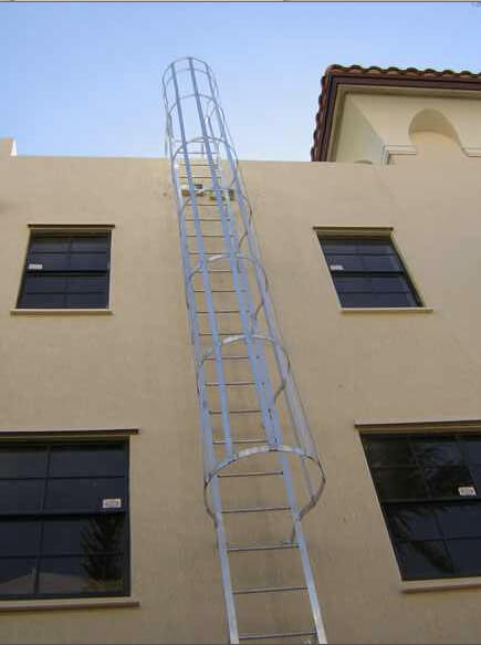 Customized Outdoor Stair Railings Iron Aluminum Miami Florida