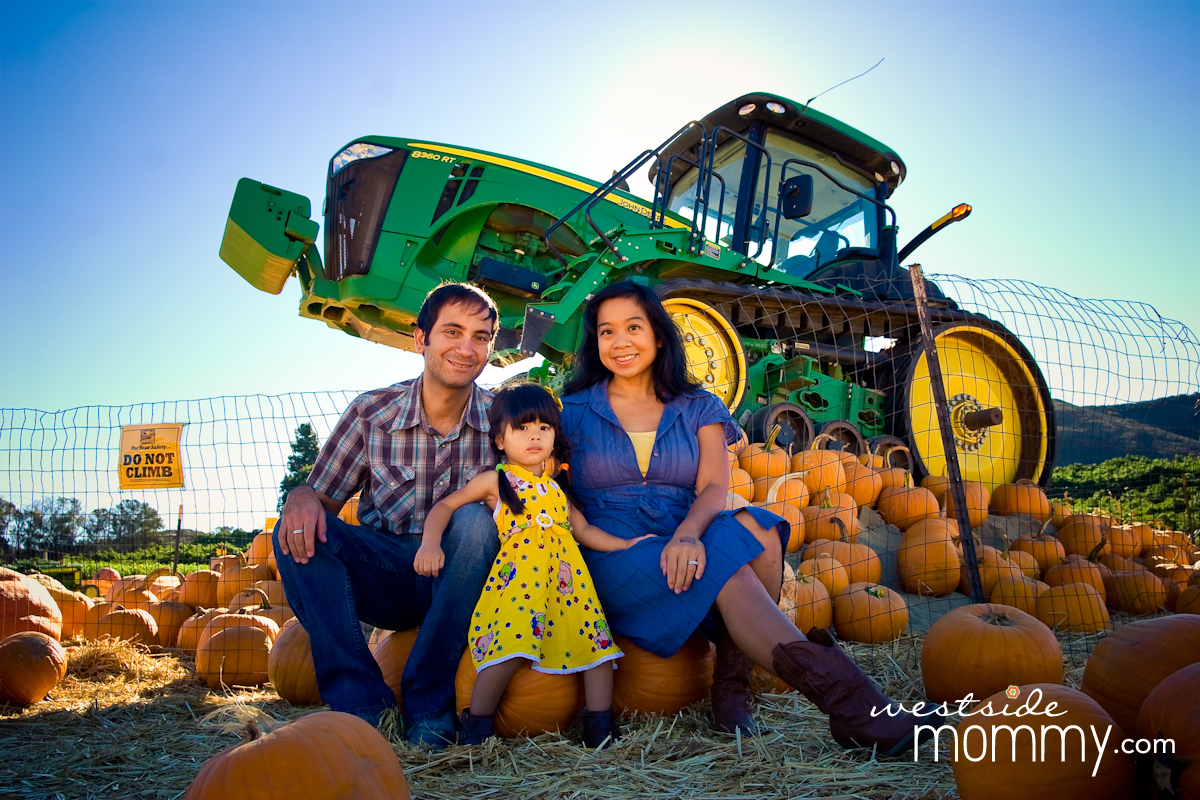 Underwood Farms in Moorpark is the perfect backdrop for Fall photos