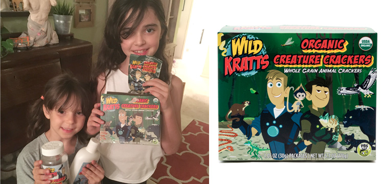 """""""Wild Kratts"""" inspired products from Whole Foods (Review)"""