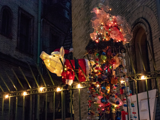 West Side Rag » Photos The Brilliant Christmas Trees of West End