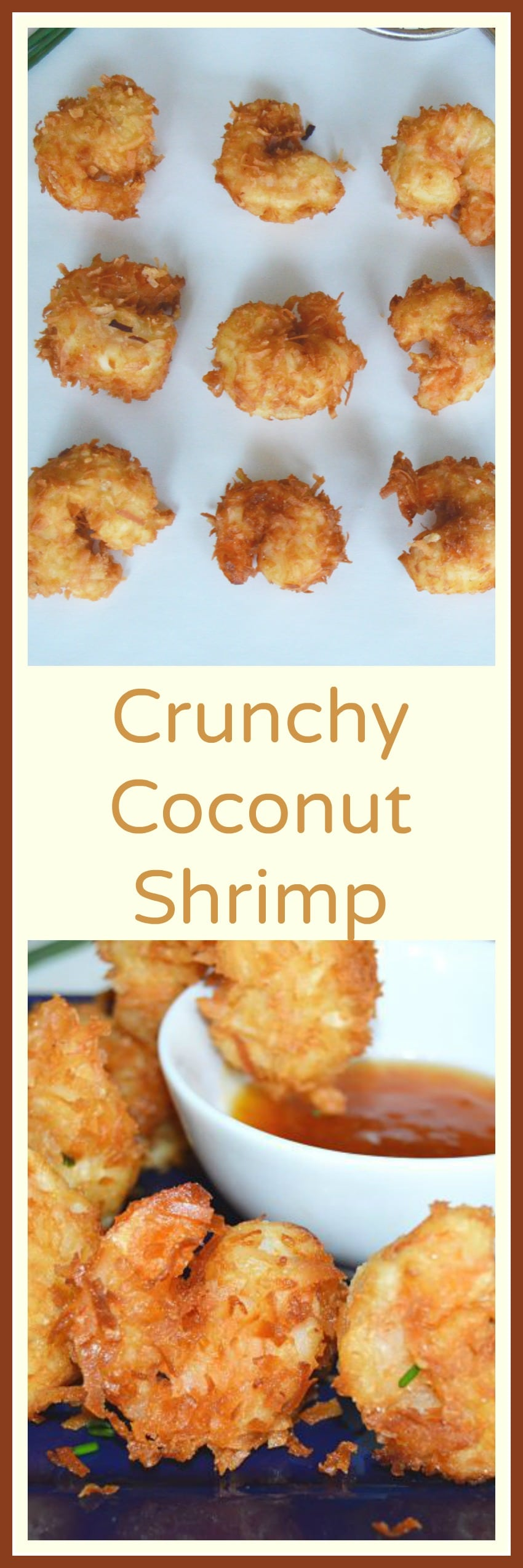 to make --Juicy, Crunchy and light? Must make these Coconut Shrimp ...