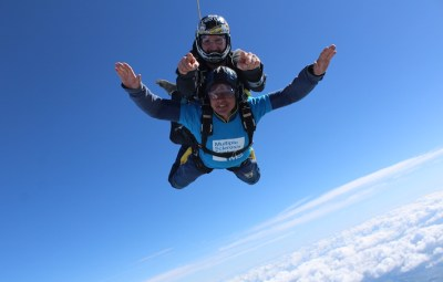 Skydiving to raise money for the MS Trust