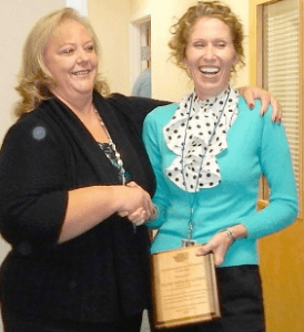 Faith Taylor-Eldred was rewarded for the abuse she inflicted on local residents as the chief Central Planner in Pacific County