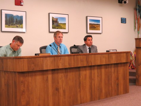 Thurston County Public Works staff did not seem to be enjoyed the hearing as much as those making public comment