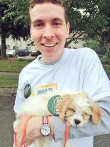 Paul Graves is in good position to become the next legislator in the 5th district, but it wont be all puppy love this campaign