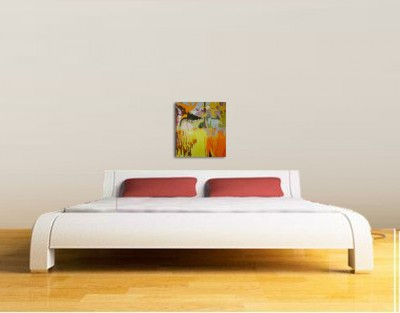 Scuola di interni l importanza della parete retro letto wevux - Quadro testata letto ...