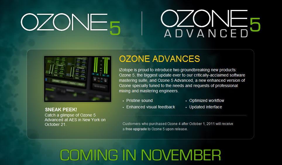 Izotope Ozone 5 Advanced VST Free Download Full Version