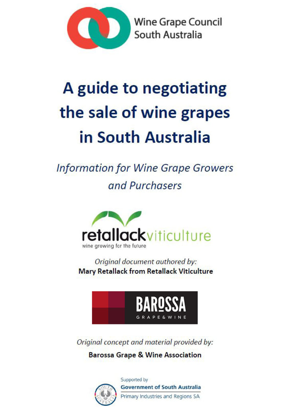 A guide to negotiating the sale of wine grapes in South Australia
