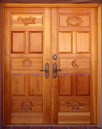 Animal Carved Doors - WGH Woodworking