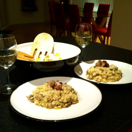 Cooking: Mushroom Risotto