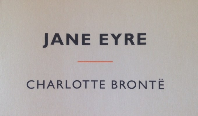 Reading: Jane Eyre by Charlotte Brontë