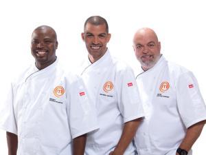 MasterChef SA Season 3 Chefs Benny, Reuben, Pete