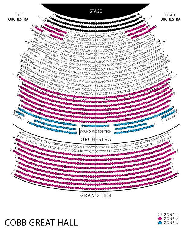 Wharton Center Seating Diagram - Online Schematic Diagram \u2022
