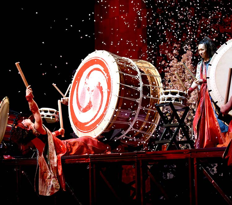 Yamato, the Drummers of Japan Wharton Center for Performing Arts
