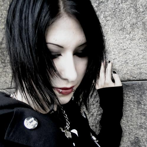 Wallpaper Photography Girl Gothic Haircuts 7