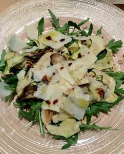 Artichoke & Ruccola Salad