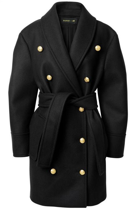 The oversize belted jacket