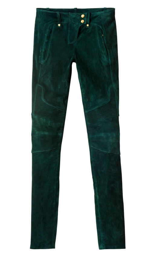 The luxurious suede pants