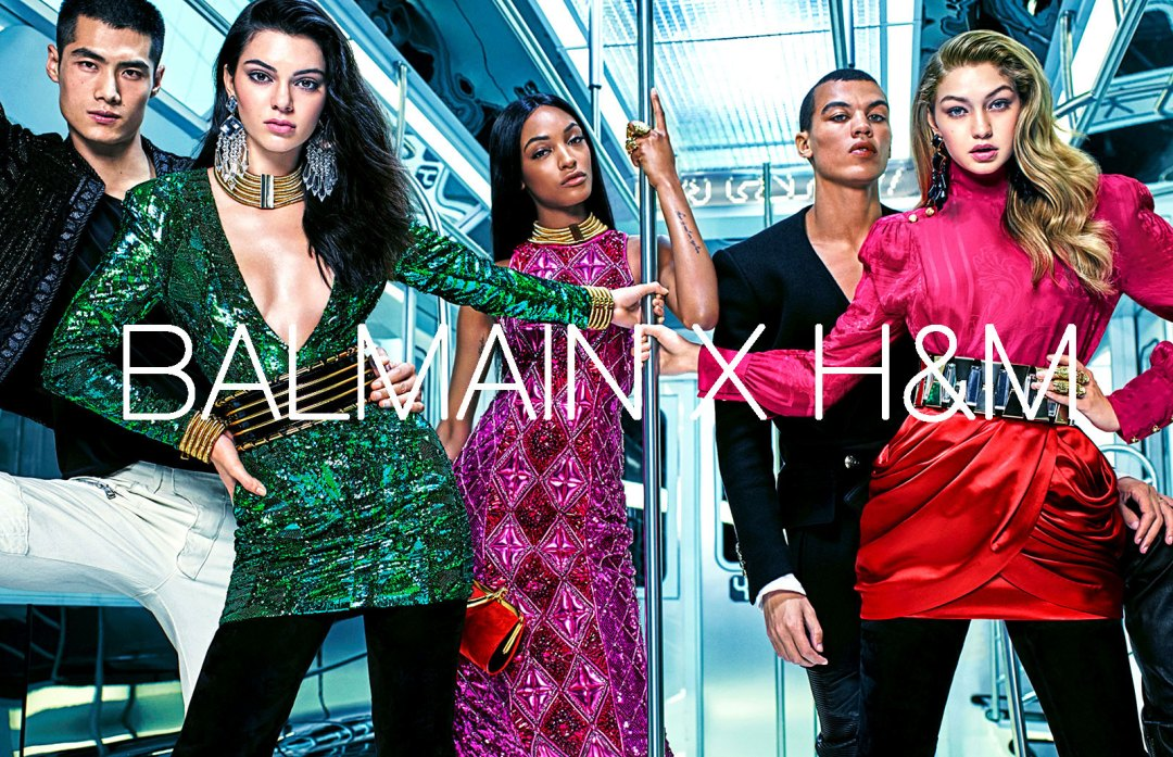 What-to-where Balmain x H&M