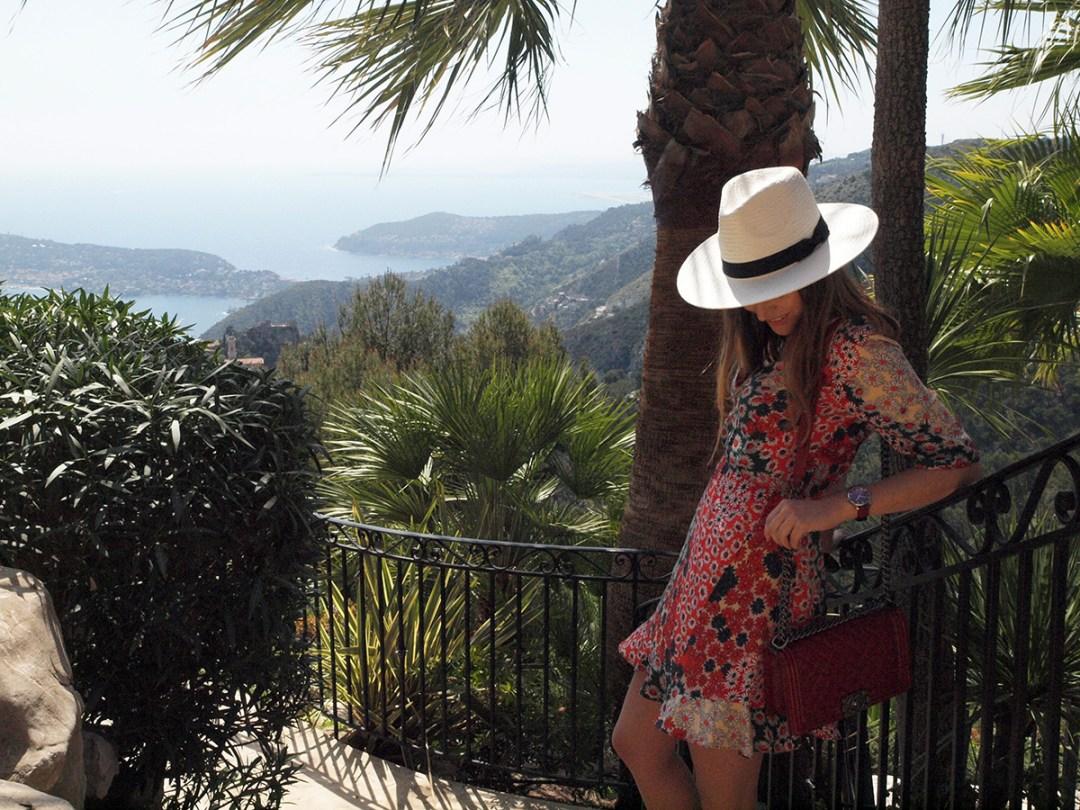 Summer 2017 trend floral dress