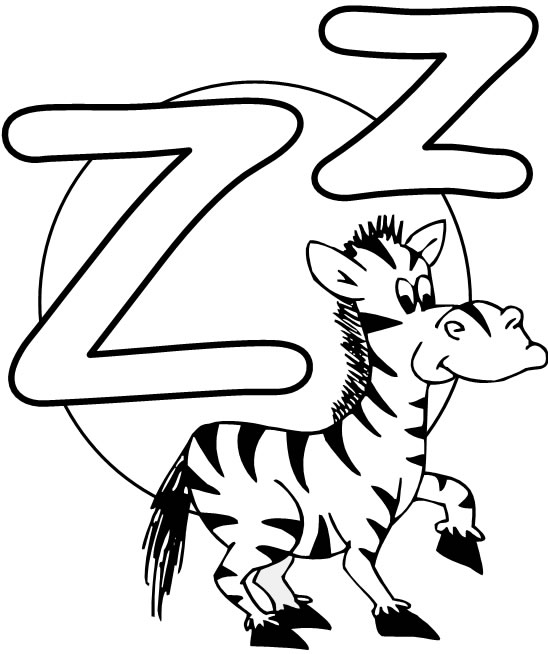 What2Learn » Free Printable Alphabet \u2013 the letter Z