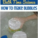 Bath Bubble Science Project
