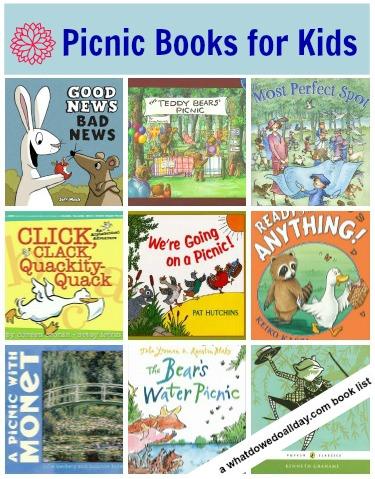picnic books for kids