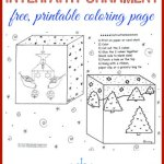 Free Interfaith Ornament Coloring Page