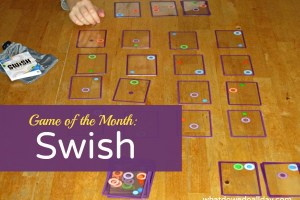 Swish game exercises spatial intelligence