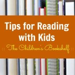 Reading Tips from The Children's Bookshelf