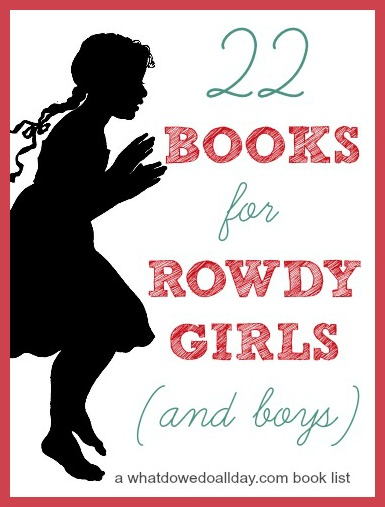 Books for kids featuring spunky girl protagonists. Fun for both boys AND girls!!