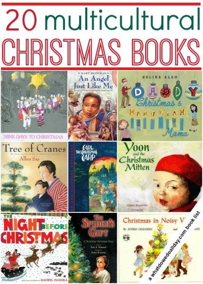 Multicultural Christmas picture books for kids