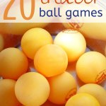 20 Indoor Ball Games for Kids