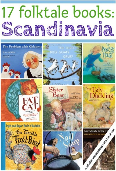 A list of folklore, folk tales and picture books from Scandinavian cultures including picture books and story collections
