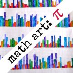 Math Art for Kids: Pi Skyline