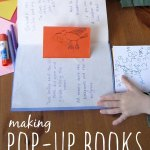 How to Make a Pop Up Book {With Your 5 Year Old}