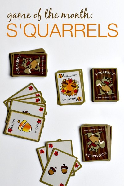 S'Quarrels is a fun family card game.
