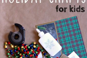 Easy Christmas crafts for kids