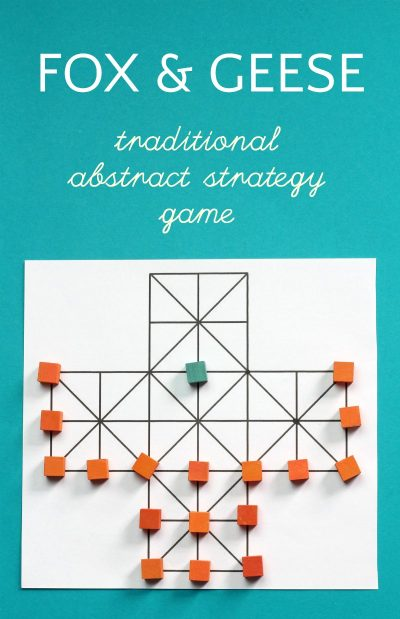 Fox and Geese A Traditional Abstract Strategy Game