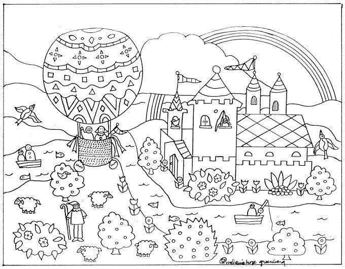 Comfortable Coloring Korean Hanbok Coloring Pages