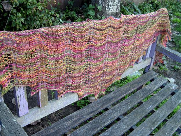 Colorful shawl