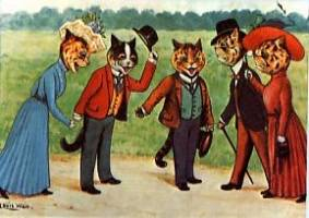 anthropomorphic cats