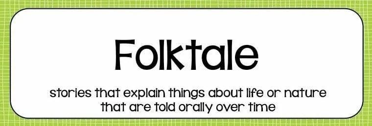 Folktale vs Fable