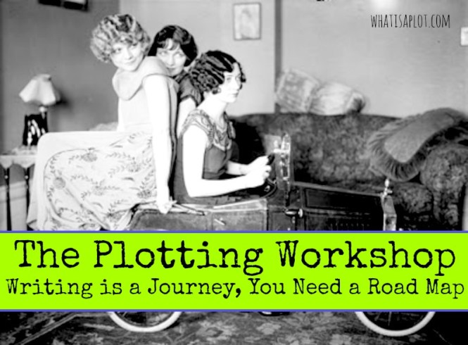The Plotting Workshop will help you mark 'write a novel' off your bucket list. And it's free!