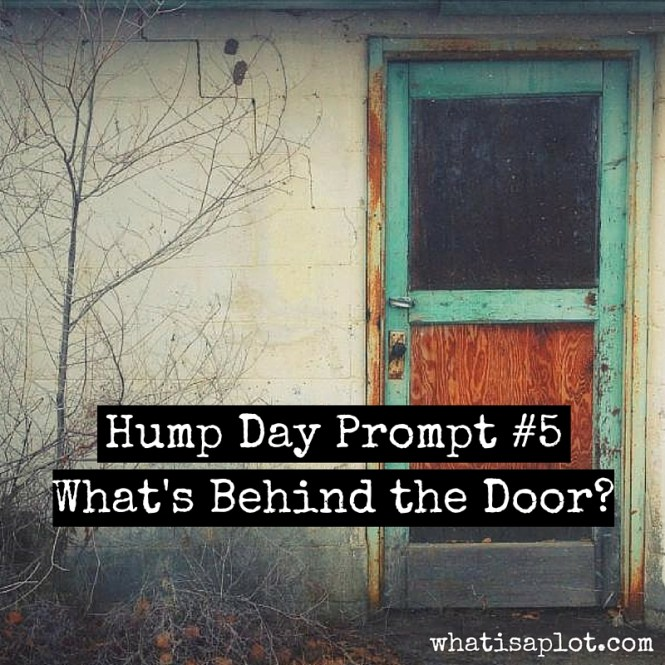 Hump Day Prompt #5:: What's Behind the Door? Use imagery to get deeper into one of your characters.