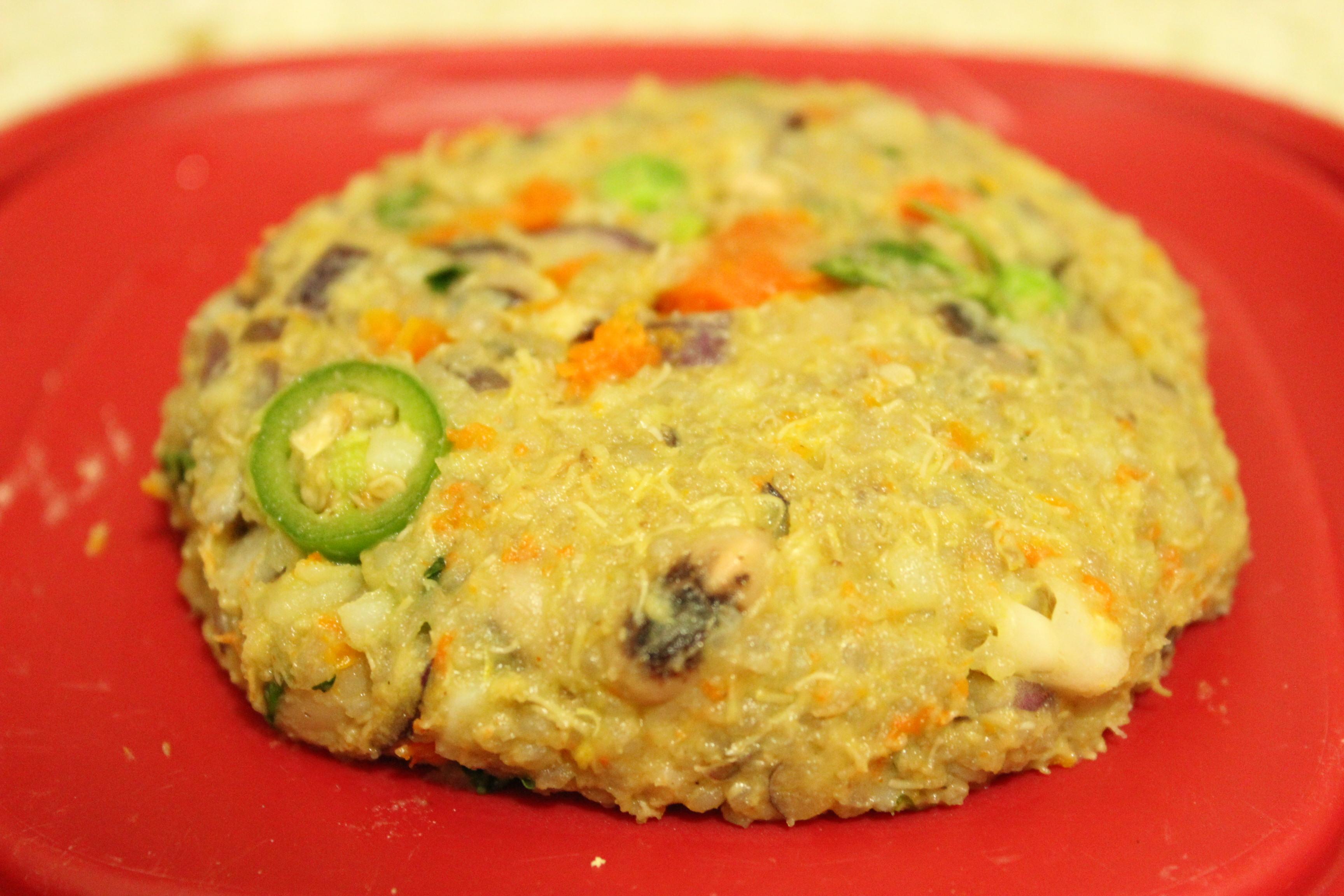 Quinoa-Black Eyed Pea-Mixed Veggie Burger - What's Cooking ...
