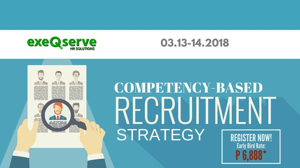 Competency-based Recruitment Strategy Workshop - What\u0027s Happening