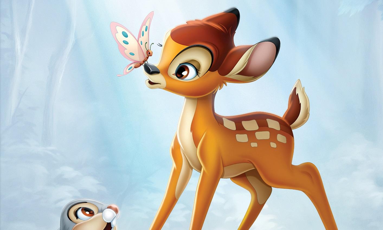 Wallpaper Cartoon Cute Couple Contest Bambi The Walt Disney Signature Collection
